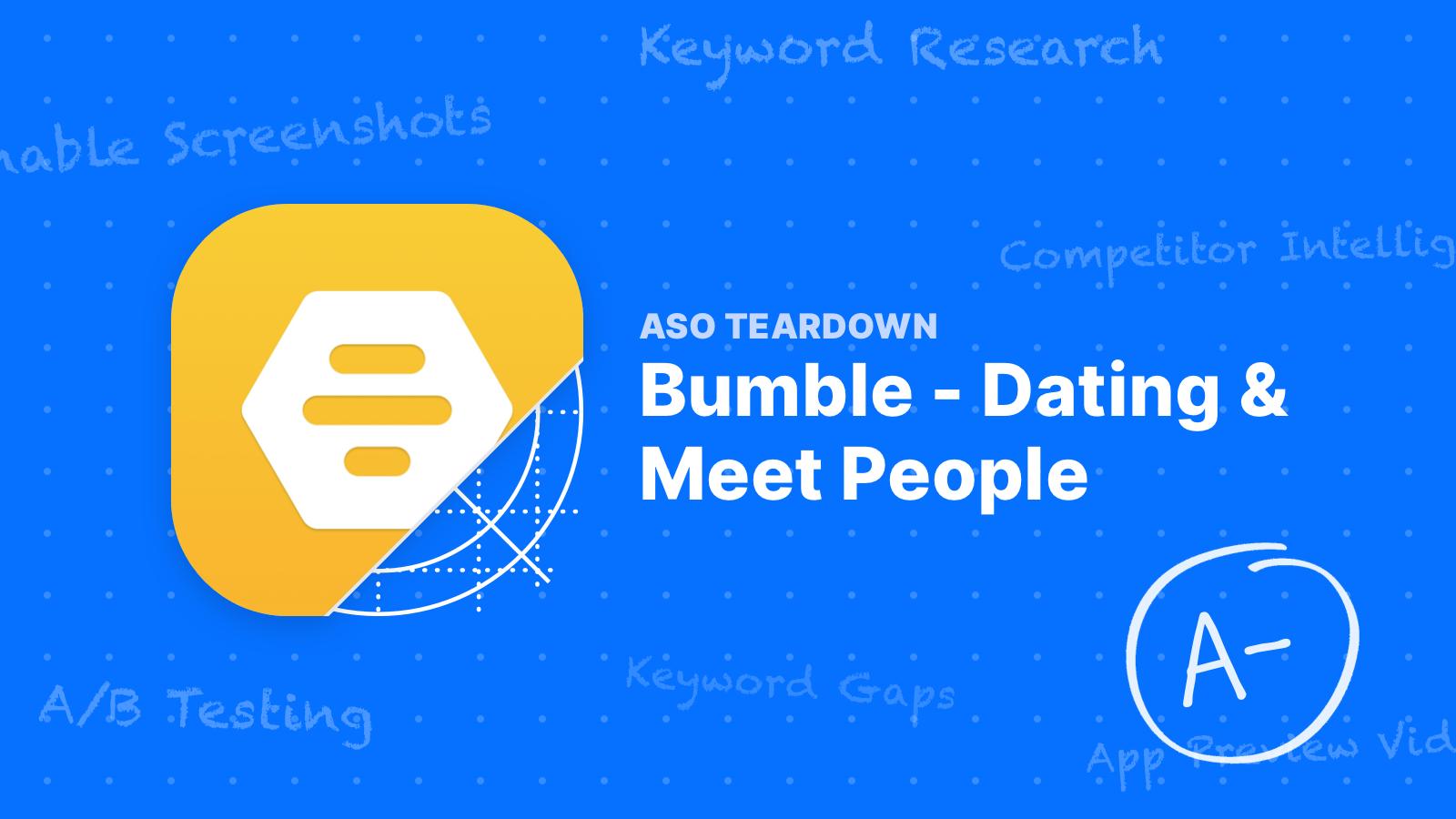 ASO Teardown - Bumble's Gunning for Tinder