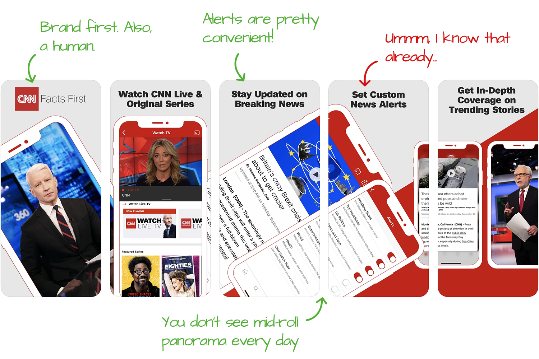 CNN for iOS Screenshot Analysis by Appfigures