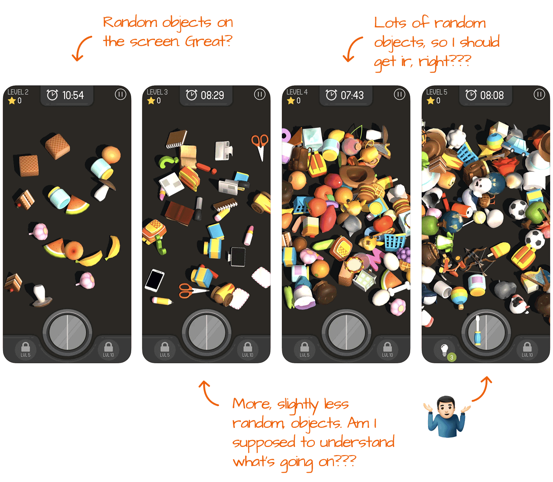 Match 3D for iOS Screenshot Analysis by Appfigures