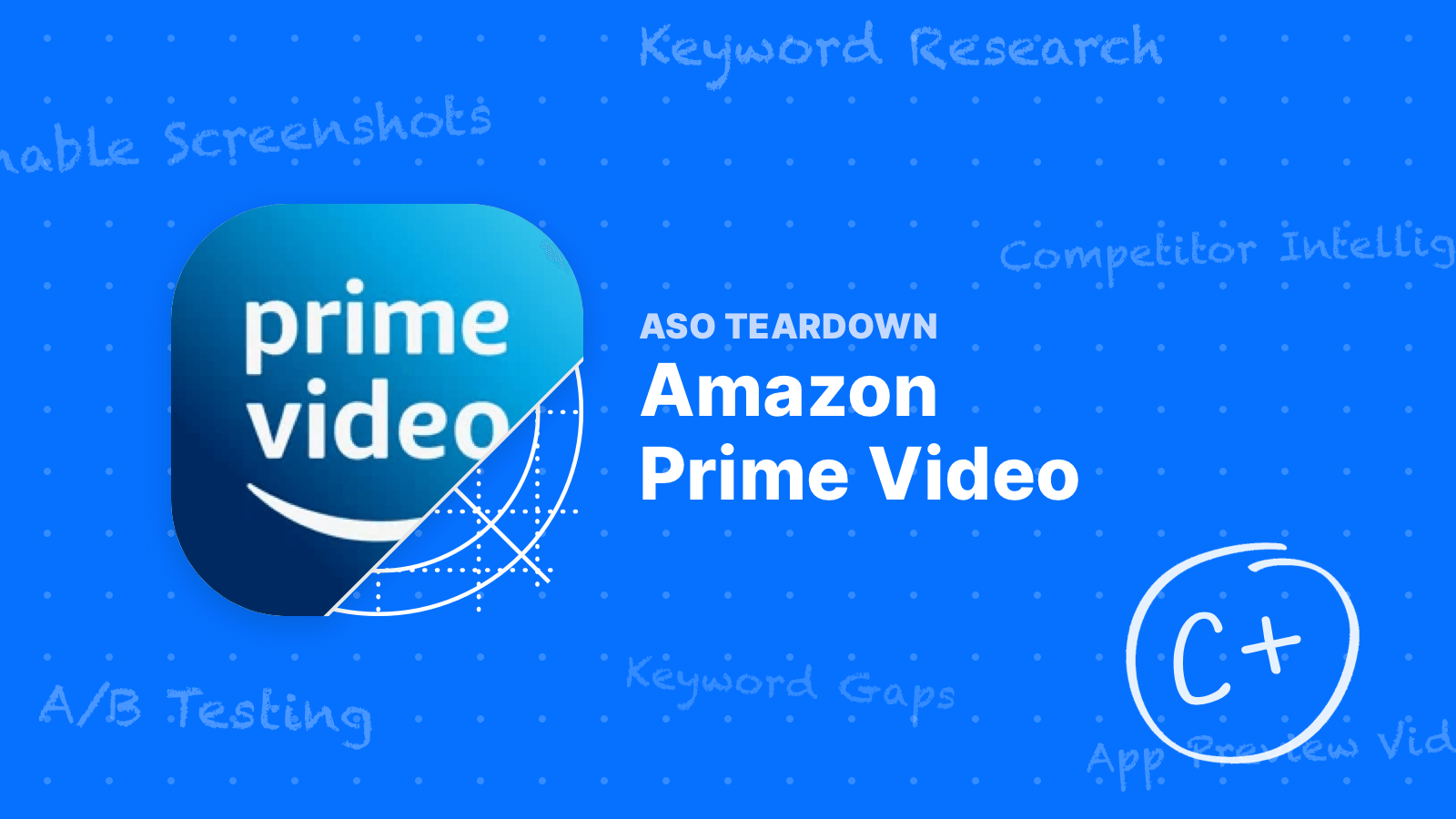 ASO Teardown - A Lot of Opportunities for Amazon Prime Video