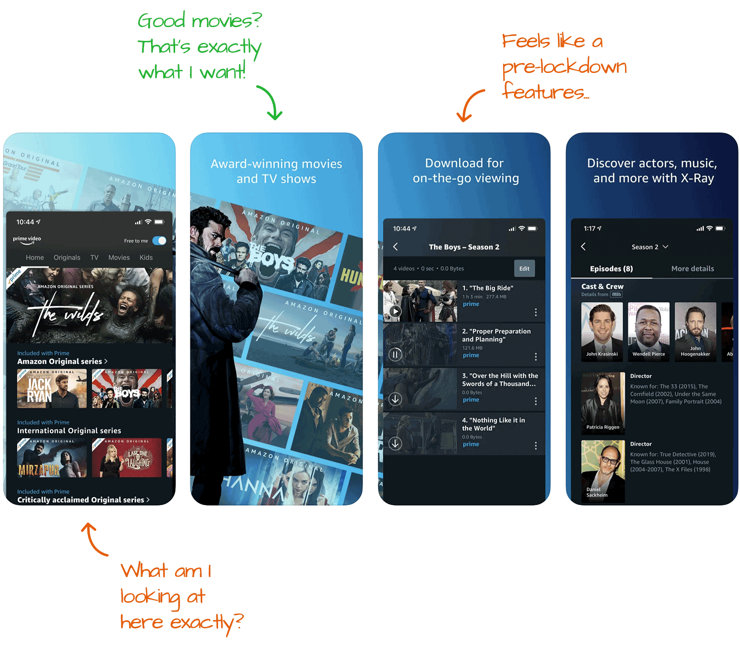 Amazon Prime Video for iOS Screenshot Analysis by Appfigures