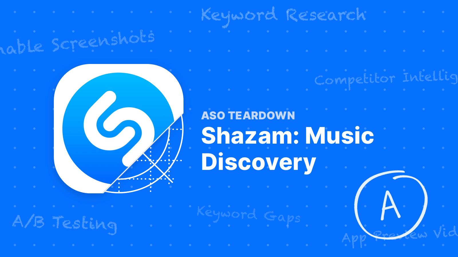 Gallery ASO Teardown   Shazam Teaches Us How Apple Does App Store ... is free HD wallpaper.