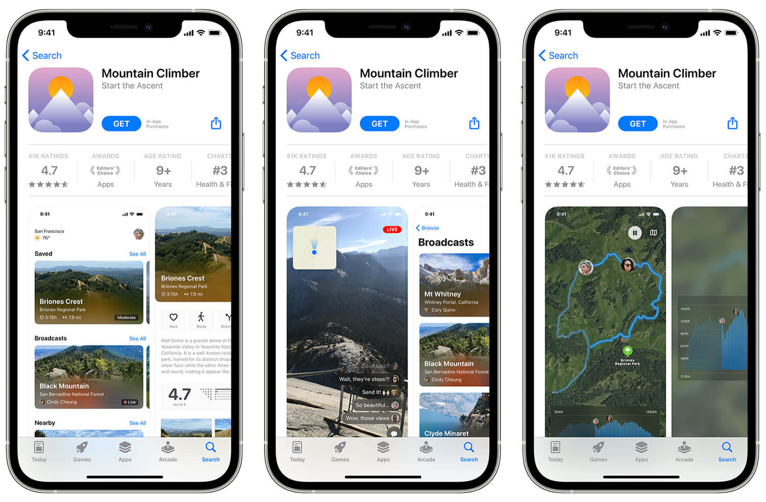 Custom landing pages in the App Store